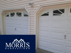 Professional fixed garage trim