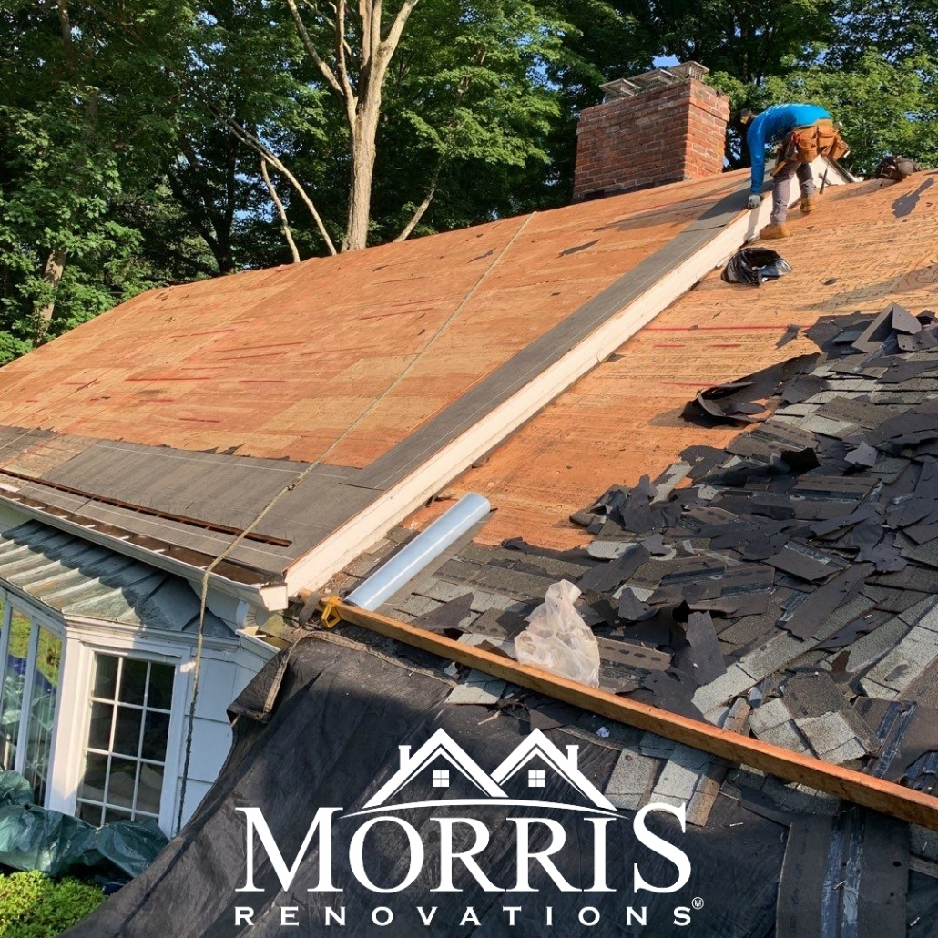 asphalt shingles replaced by professionals
